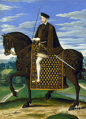 Painting - Henry II (1519-1559) by Granger