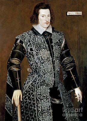 Sir Robert Devereux Art Print by Granger