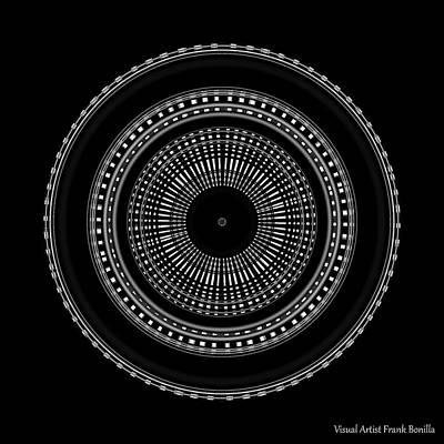 Digital Abstract Art Digital Art - #011020155 by Visual Artist Frank Bonilla