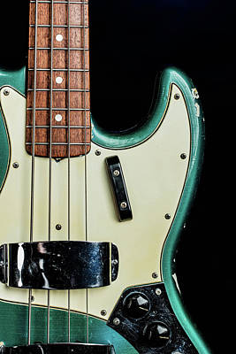 Photograph - 011.1834 Fender 1965 Jazz Bass Color by M K Miller