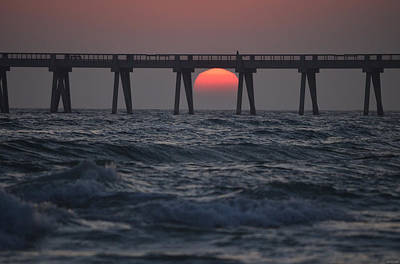 Photograph - 0123 Navarre Sunset In A Box by Jeff at JSJ Photography