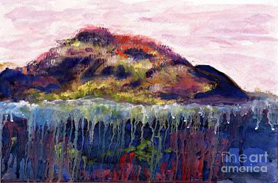 01252 Big Island Art Print by AnneKarin Glass