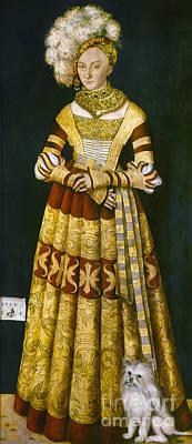 Painting - Katharina Von Mecklenburg by Granger