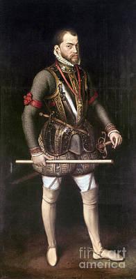 Painting - Philip II Of Spain (1527-1598) by Granger
