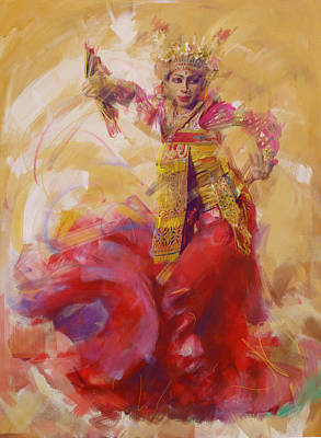 Painting - 013 Kazakhstan Culture by Maryam Mughal