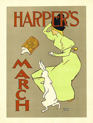 Painting - Harpers March by Edward Penfield