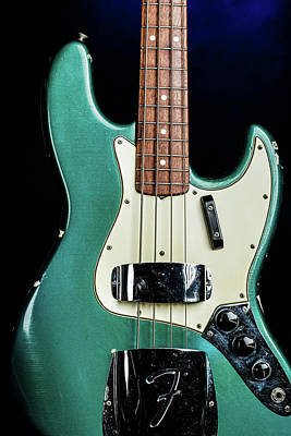 Photograph - 014.1834 Fender 1965 Jazz Bass Color by M K Miller