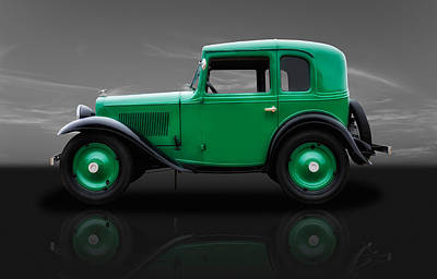 Photograph - Classic 1933 American Austin Bantam by Frank J Benz