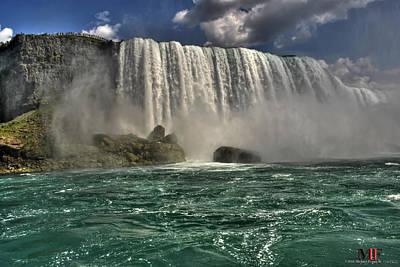 Iphone Case Photograph - 017 Niagara Falls 2016 by Michael Frank Jr