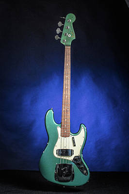 Photograph - 017.1834 Fender 1965 Jazz Bass Color by M K Miller