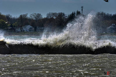 Photograph - 02 High Winds And Waves by Michael Frank Jr