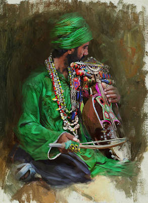 Exhibition Painting - 023 Sindh by Mahnoor Shah