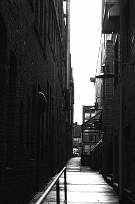 Alleyway Art Print by Marilyn Wilson