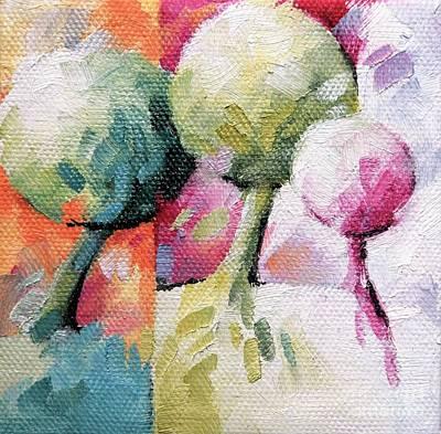 Artist Painting - 036 Arbres by Beatrice BEDEUR