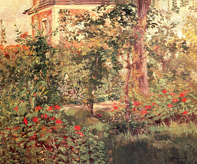 Painting - The Bellevue Garden by Edouard Manet