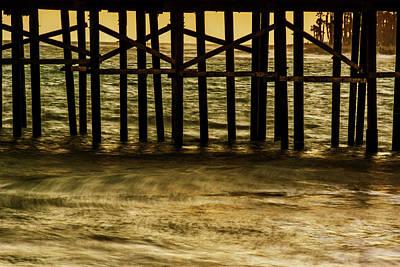 Pasta Al Dente - 0398- Pier Warm Sunset by David Lange