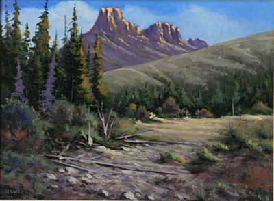040610-912 Horse Thief Creek Art Print by Kenneth Shanika