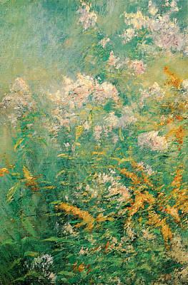 Painting - Meadow Flowers by John Henry Twachtman