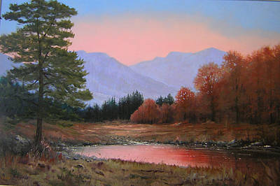 051116-3020     First Light Of Day   Art Print by Kenneth Shanika