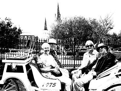 05162008 Tourist New Orleans Original by Garland Oldham