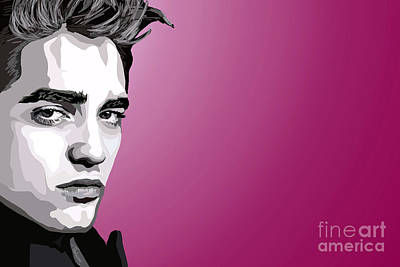 Cullen Wall Art - Painting - 052. Real Men Sparkle by Tam Hazlewood