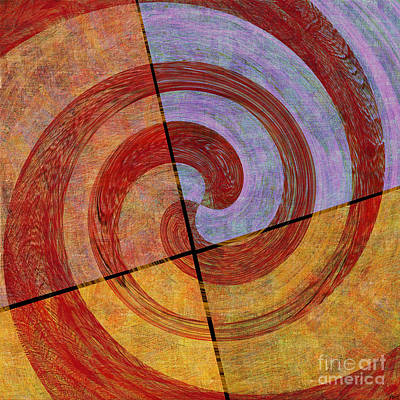 0581 Abstract Thought Art Print