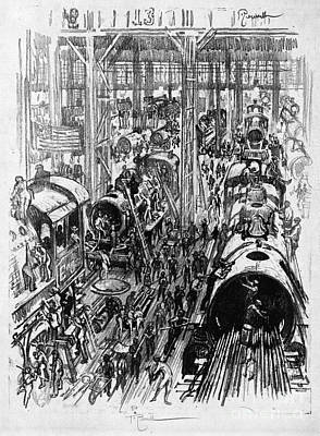 Drawing - Pennell Engines, 1917 by Granger
