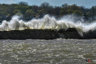 Photograph - 07 High Winds And Waves by Michael Frank Jr