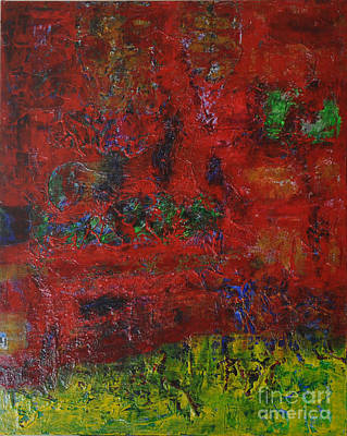Painting - 072 Abstract Thought by Chowdary V Arikatla