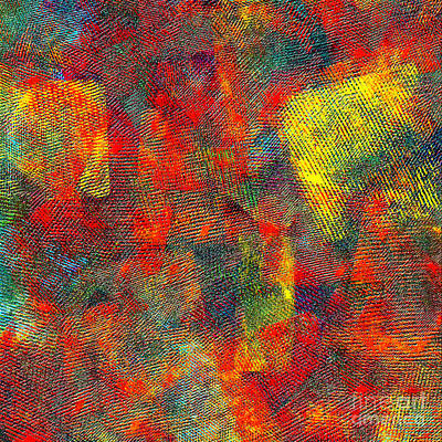 0786 Abstract Thought Art Print