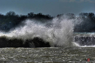 Photograph - 09 High Winds And Waves by Michael Frank Jr