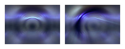 Photograph - 09 Shineonucrazydiamond Diptych 09 by David Hargreaves