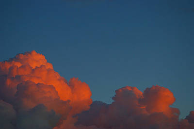 Photograph - Fireclouds by Theresa Pausch