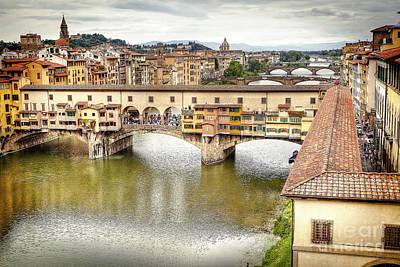 Mellow Yellow - 0976 Ponte Vecchio by Steve Sturgill