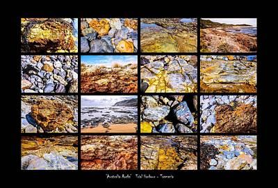 Photograph - ' Australia Rocks '  Trial Harbour - Tasmania by Lexa Harpell
