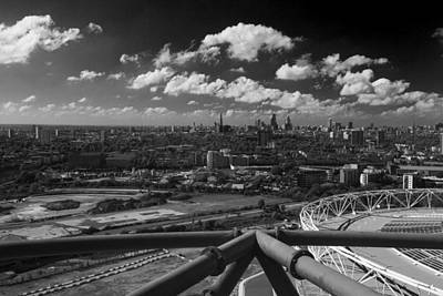 Photograph -  City Of London Skyline  Panarama by David French
