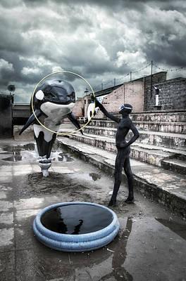 Installation Art Photograph -  Dismaland by Jason Green