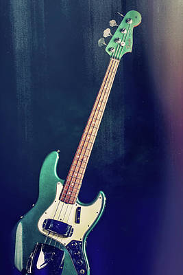Photograph - 002.1834 Fender 1965 Jazz Bass Color by M K Miller