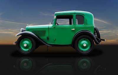 Photograph - 1933 American Austin Bantam Coupe by Frank J Benz