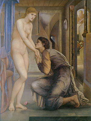 Roaring Red - The Soul of Attains by Edward Burne Jones