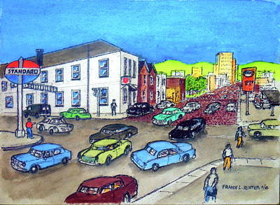 Painting - 11th Street And Chillicothe Street The Old Salvation Army Citadel by Frank Hunter