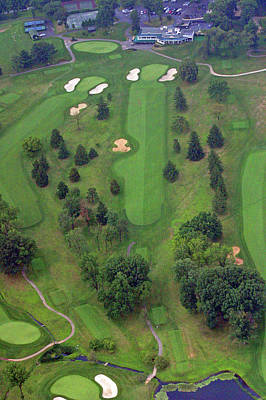 Photograph - 18th Hole Sunnybrook Golf Club by Duncan Pearson