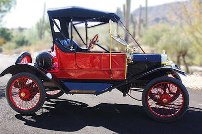 Photograph - 1911 Ford Model T Torpedo by Jill Reger