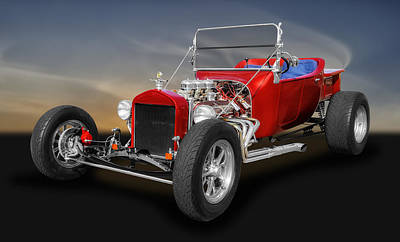 Photograph - 1923 Ford T-bucket Street Rod by Frank J Benz