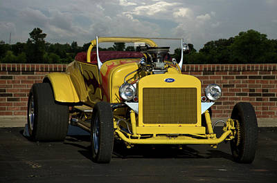 Photograph - 1924 Ford Model T Roadster Hot Rod by Tim McCullough