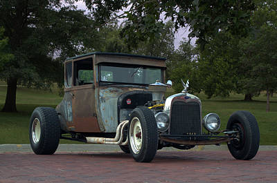 Photograph - 1926 Ford High Top T Rat Rod by Tim McCullough