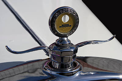 1928 Dodge Brothers Photograph - 1928 Dodge Hood Ornament by Nick Gray