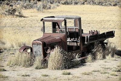 Photograph - 1928 International Truck by Steve McKinzie