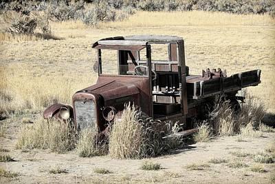 Photograph - 1928 International Truck by Steve McKinzie