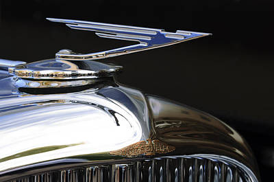 Photograph - 1929 Duesenberg Model J Hood Ornament by Jill Reger